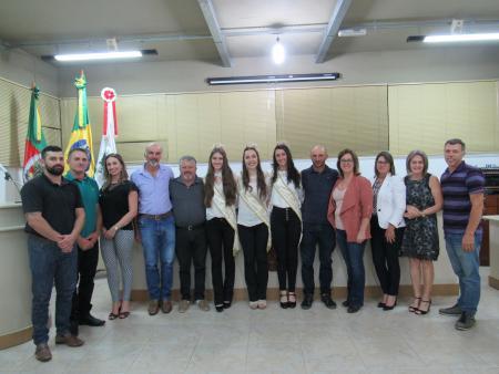 CÂMARA DE VEREADORES RECEBE COMITIVA DE DIVULGAÇÃO DA 14ª LA PRIMA VENDEMMIA 2020