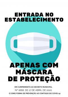 #UTILIZE MÁSCARA DE PROTEÇÃO#