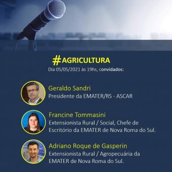 Agricultura de Nova Roma do Sul