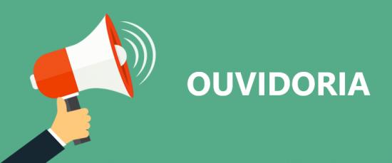 Logotipo do serviço: OUVIDORIA PRESENCIAL