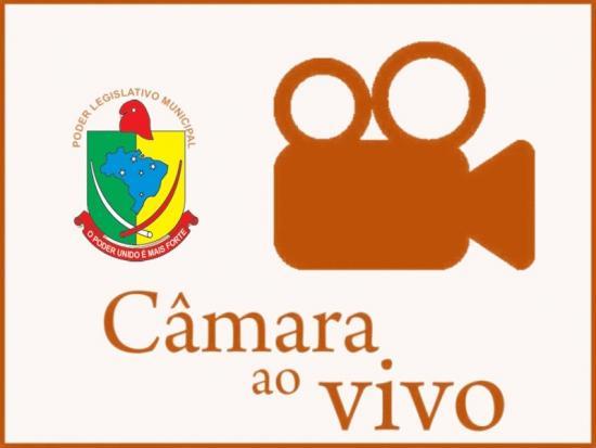 Logotipo do serviço: SESSÕES AO VIVO